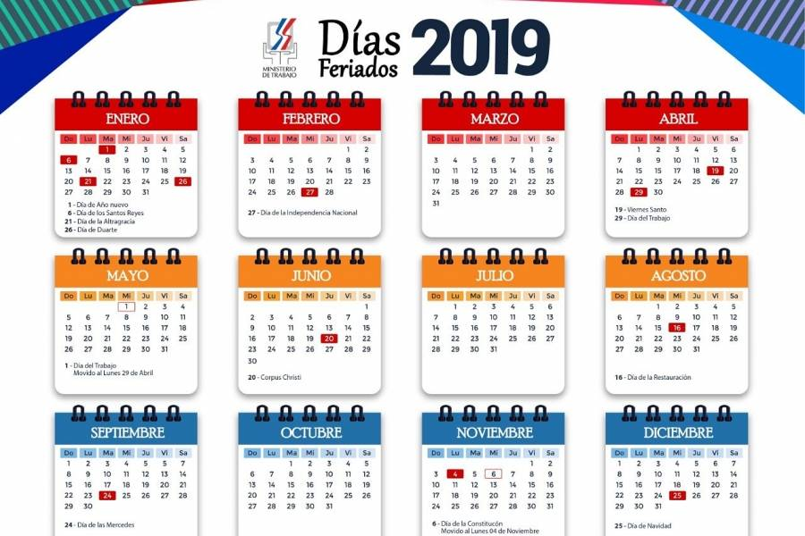 Calendario 2019 Chile Con Feriados Para Imprimir.Ministerio De Trabajo Informa Feriados 2019 Metro