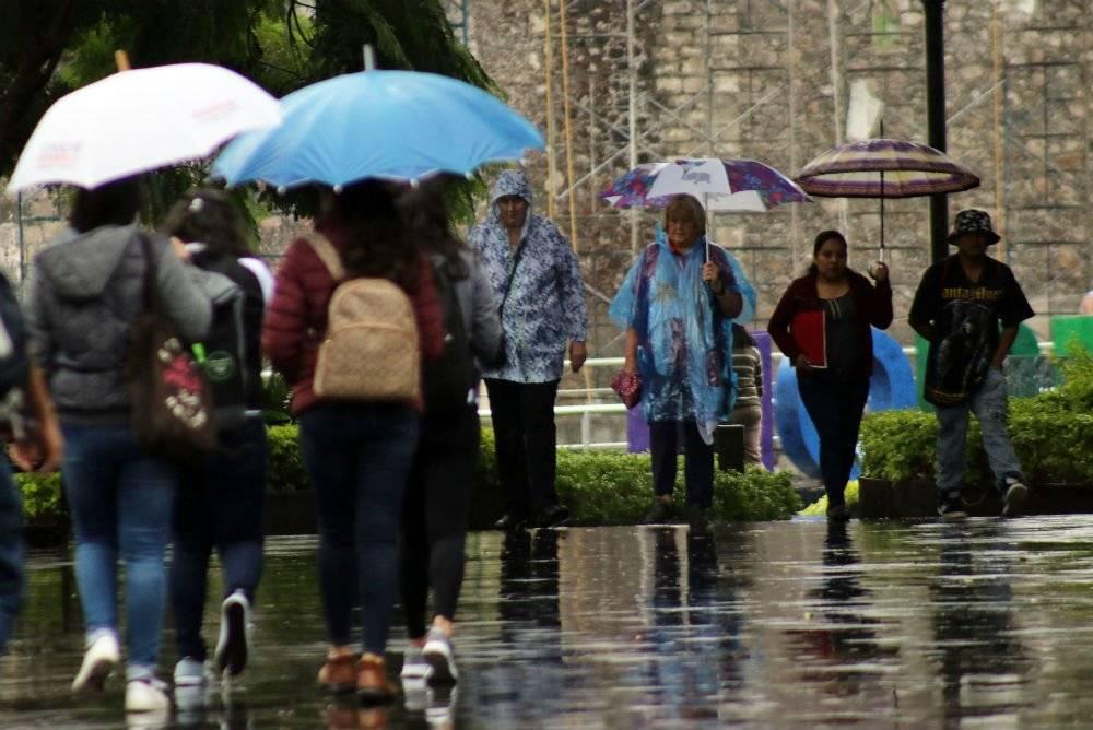 Lluvia y bajas temperaturas afectaron a Cuernavaca. Foto: Cuartoscuro