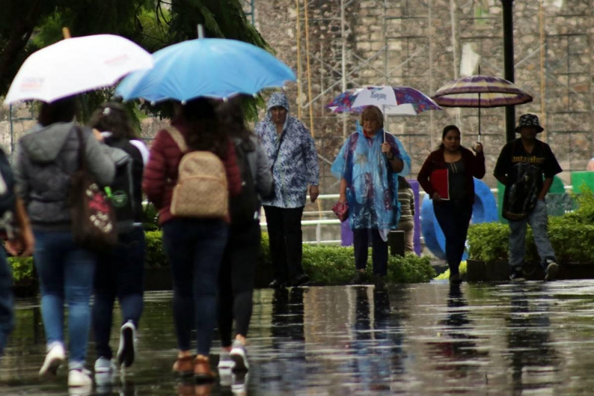 Lluvia y bajas temperaturas afectaron a Cuernavaca Foto: Cuartoscuro