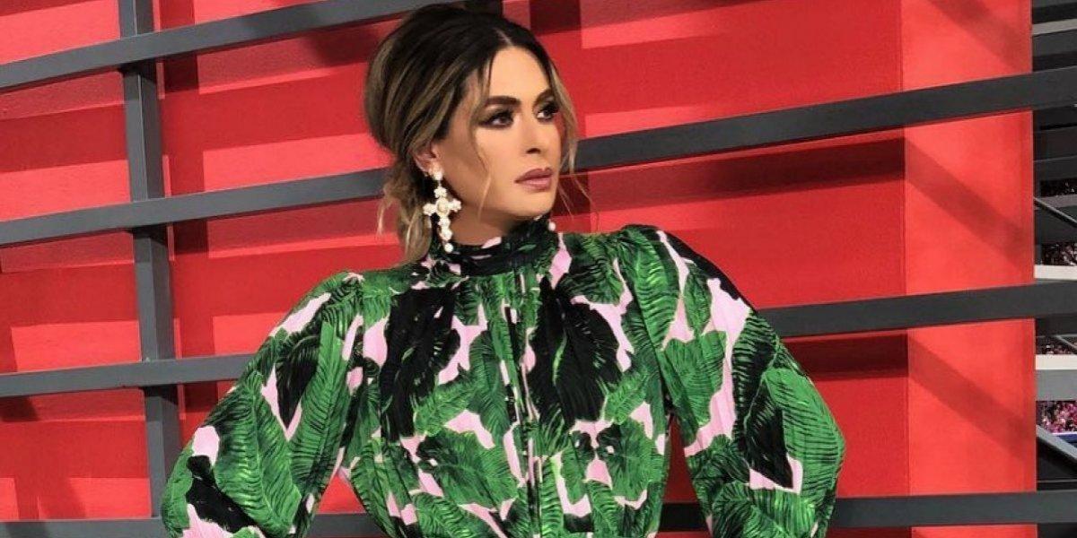 VIDEO: Galilea Montijo revienta cinturón en pleno programa