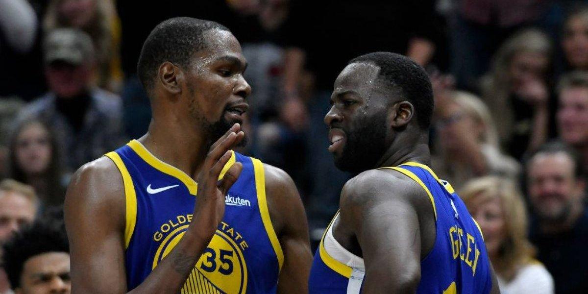 NBA: Escándalo en Golden State Warriors tiene a Kevin Durant casi fuera del equipo