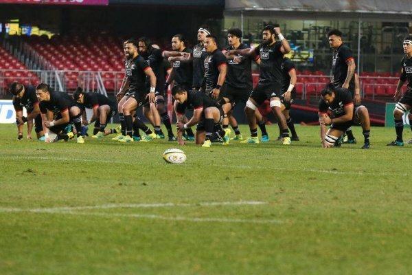 La cancha del Morumbí, Sao Paulo, recibió el duelo entre Brasil y los Maori All Blacks. San Carlos de Apoquindo hará lo propio con el partido entre los Cóndores y el representativo de Nueva Zelandia / Foto: Getty Images