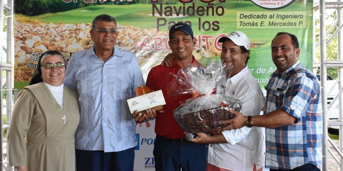 Realizan torneo a beneficio del Hogar Ancianos Padre Abreu