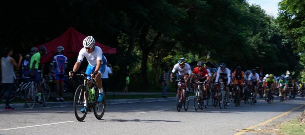 """Foto: Jose """"Pacheco"""" Pérez en una de las escapadas de su categoría en el tercer y último día de la carrera/Suministrada"""