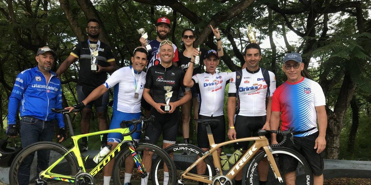 Ciclismo Máster puertorriqueño se destaca en evento internacional