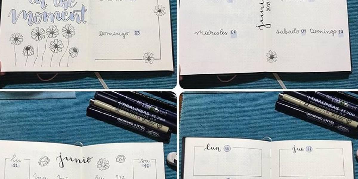 Bullet Journal: la tendencia de crear agendas en cuadernos que está llegando a Chile