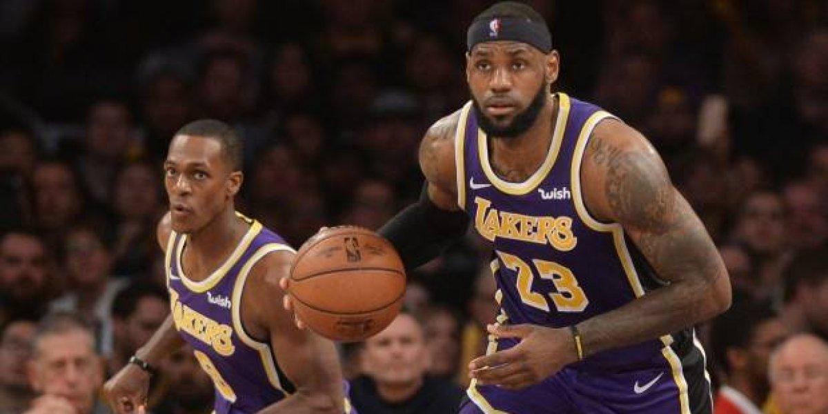 """LeBron: """"Casi entro en colapso"""" debido a derrotas de los Lakers"""