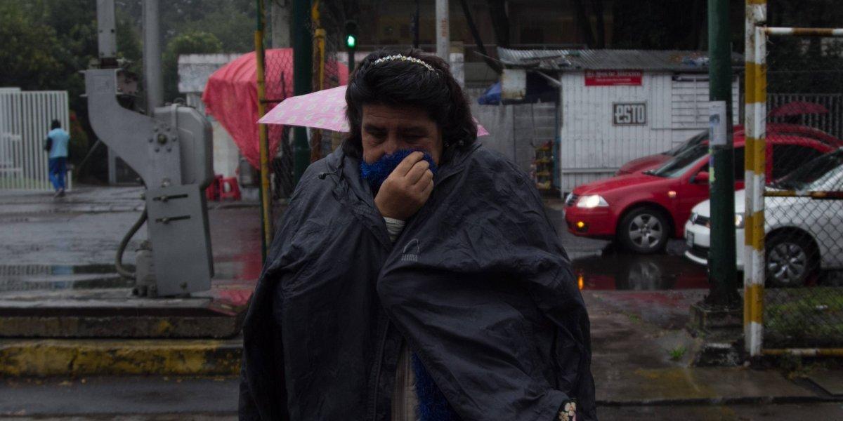 Continúa alerta amarilla y naranja en la Ciudad de México por frío