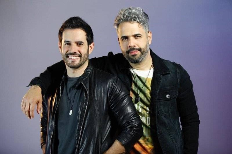 Manny Cruz y Daniel Santacruz