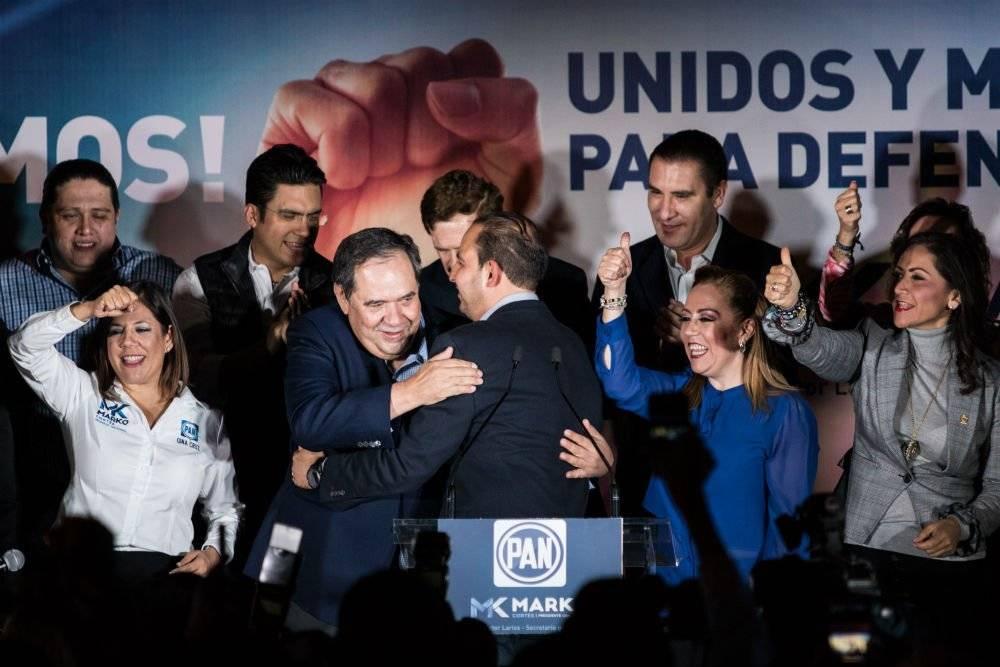 Recientemente Marko Cortés fue elegido como nuevo presidente del PAN. Foto: Cuartoscuro