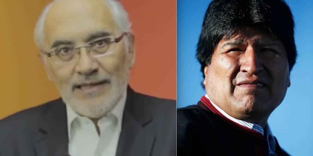 """""""Maleante"""" versus """"dictador"""":  los insultos entre Evo Morales y Mesa crean ambiente de tensión en Bolivia"""