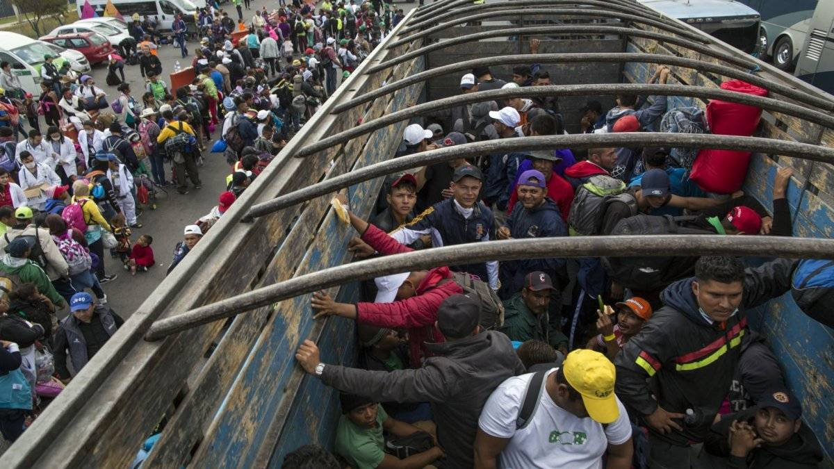 Los migrantes han sufrido xenofobia discriminación, estigmatización y criminalización. AP