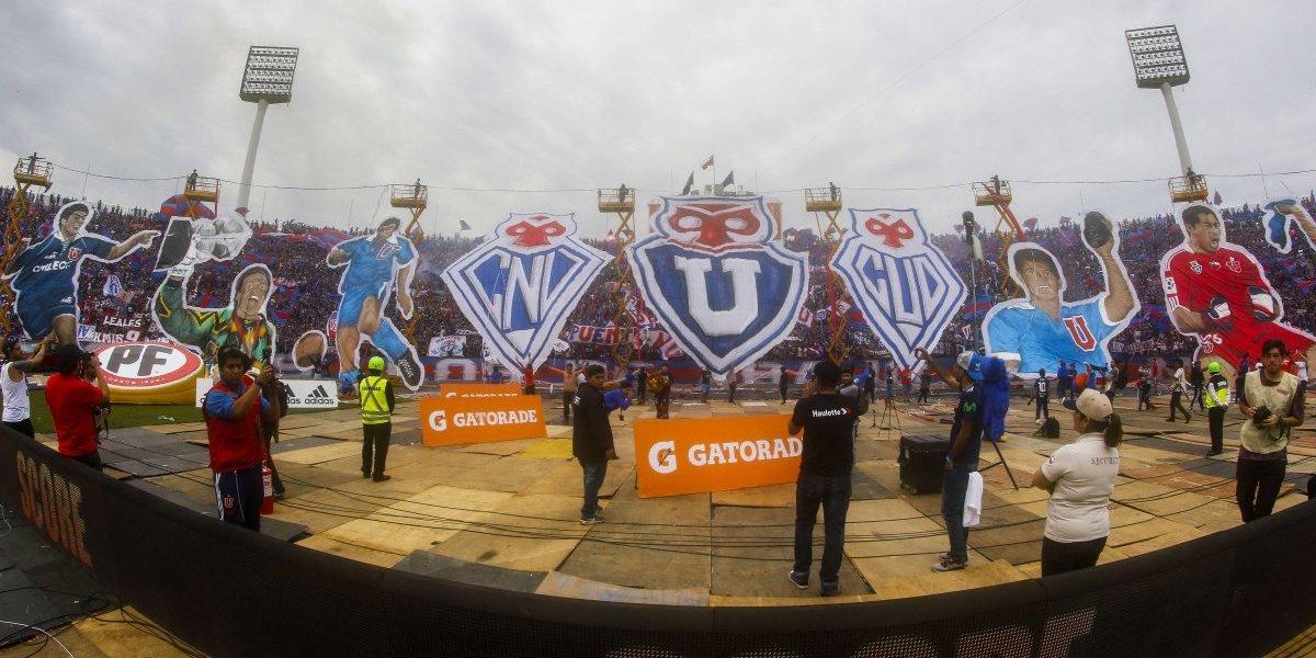 La U va por un nuevo récord histórico de asistencia de público en el fútbol chileno
