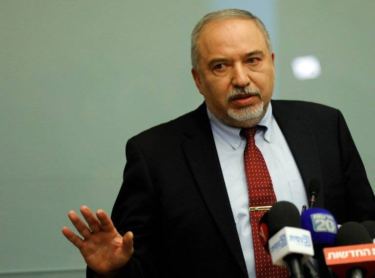 Avigdor Lieberman, ministro de Defensa de Israel
