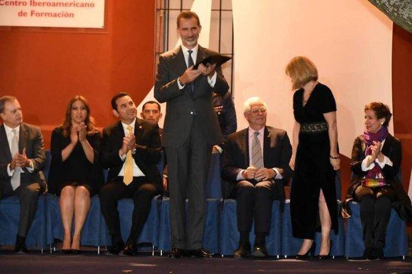 Rey Felipe de España recibe las llaves de La Antigua Guatemala
