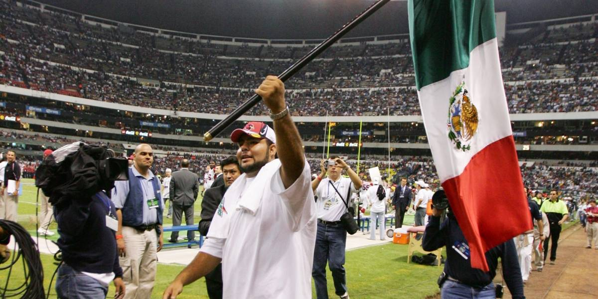 Ex jugador mexicano de NFL lamenta juego cancelado: 'Me quedo sin palabras'