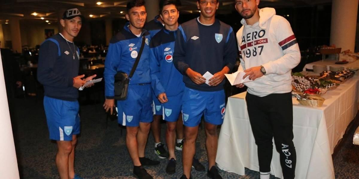 La selección de Guatemala ya está en Israel para el amistoso del jueves