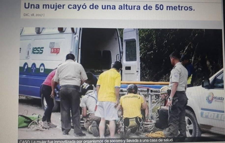 Captura de pantalla/Diario La Hora Captura de pantalla