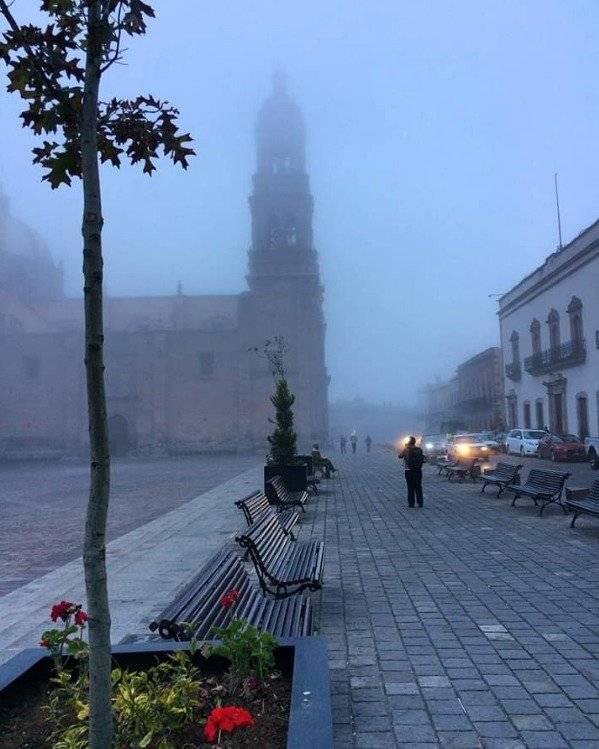 Zacatecas también reportó bajas temperaturas Foto: Twitter @n_alvarito