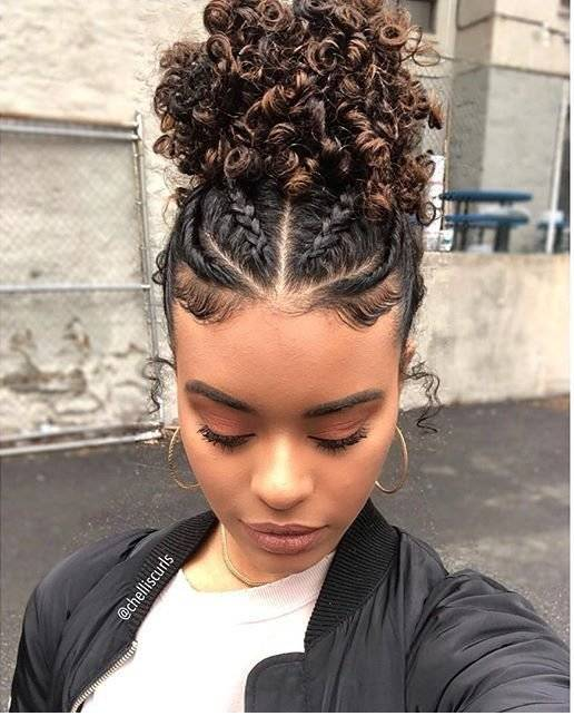 peinados para cabello corto chino