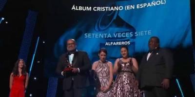 Alfareros Latin Grammy