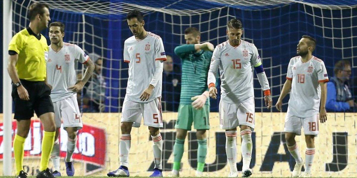 España cae ante Croacia, ahora depende de los ingleses y croatas