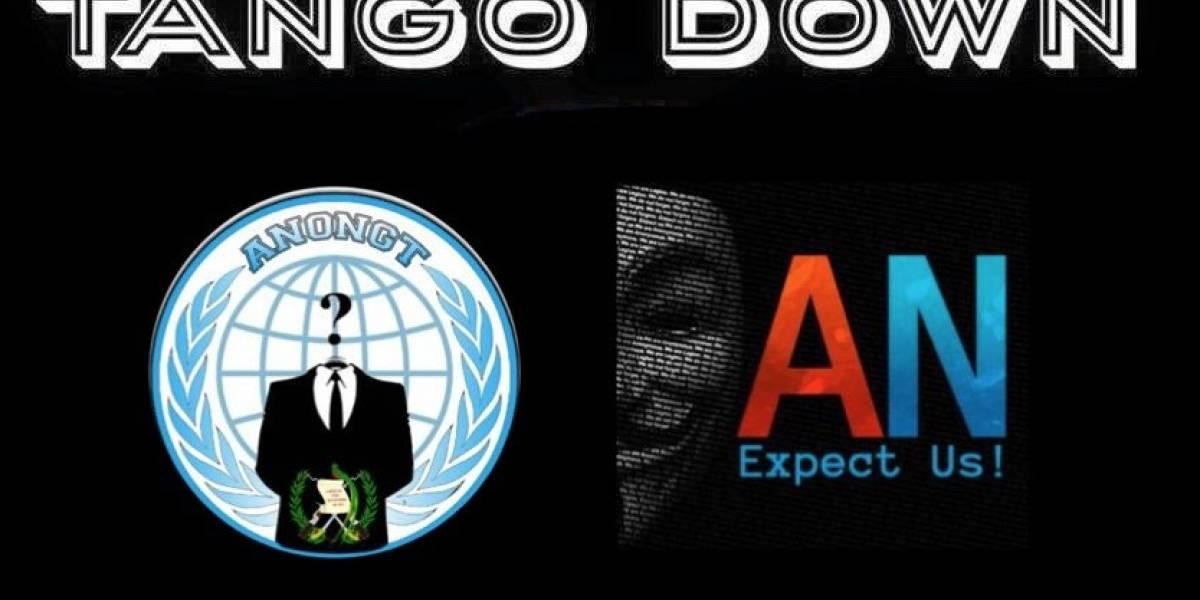 EN IMÁGENES. Anonymous se adjudica ataque cibernético a sitios oficiales