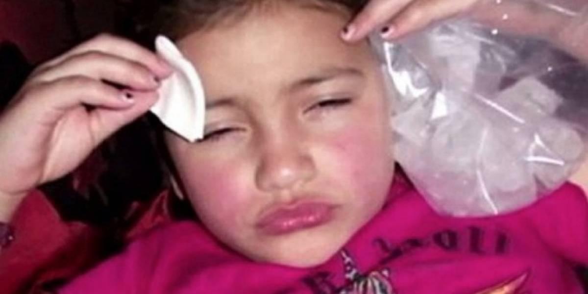 A sus 8 años ya era adicta al botox que su madre le inyectaba