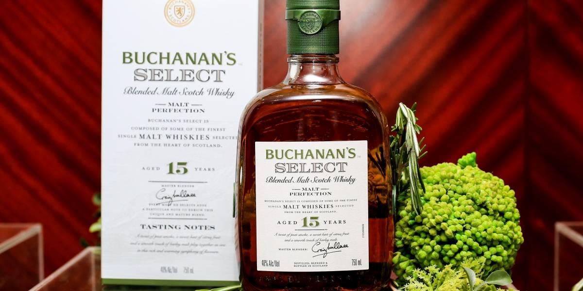Casa Buchanan's presenta Buchanan's Select 15-Year-Old,  primera mezcla de maltas de la familia