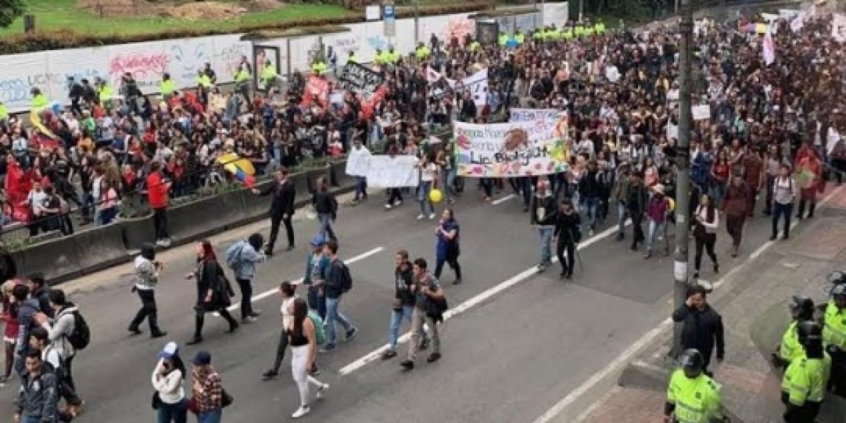 ¡Alístese para el trancón! Por estas vías de Bogotá pasarán las marchas