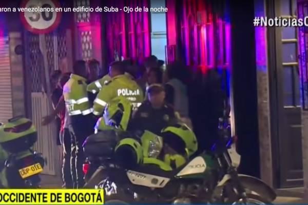 Venezolanos asaltaron a venezolanos en Bogotá