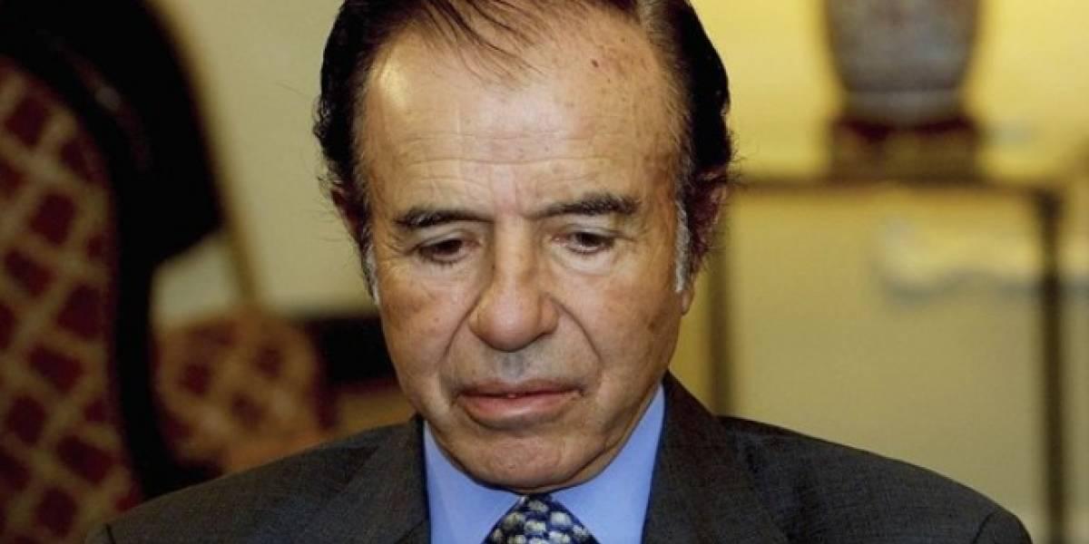 Menem recibe condena y es inhabilitado a ejercer cargos públicos de por vida