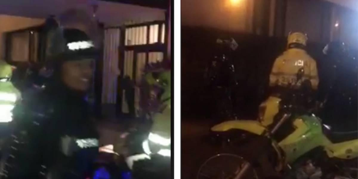 VIDEOS: Esmad detiene a cinco estudiantes arbitrariamente en el norte de Bogotá
