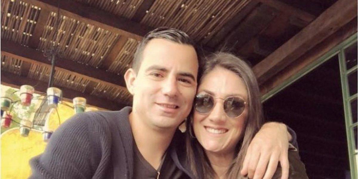 Marco Pappa cumple años y su novia Mirciny Moliviatis le dedica Las Mañanitas