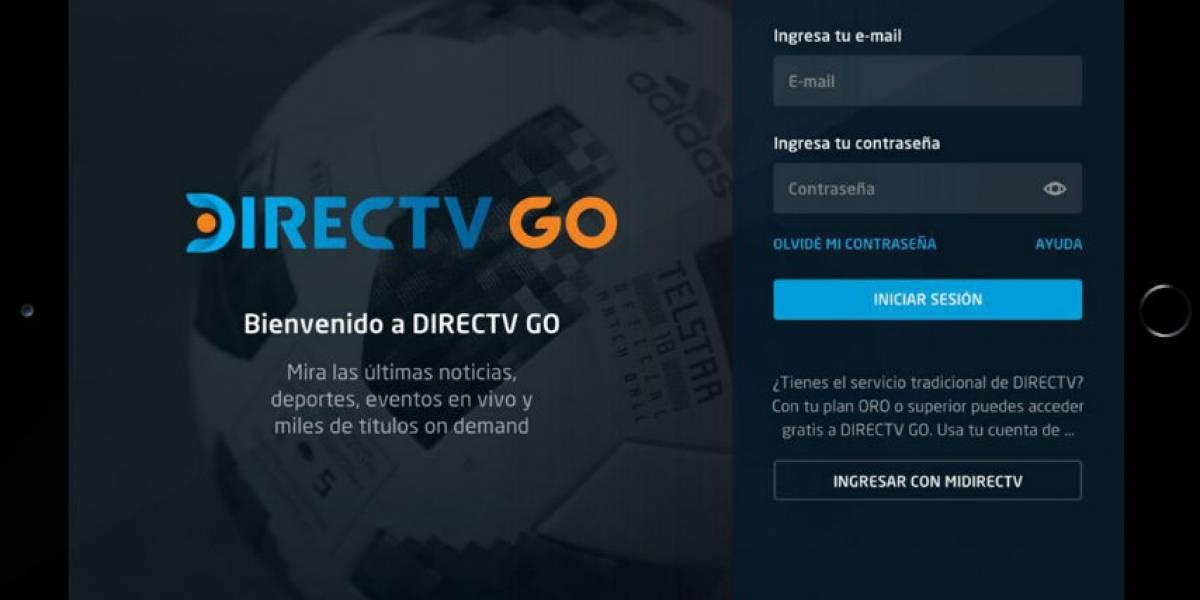 DIRECTV GO: Contenidos On Demand y en vivo sin necesidad de tener TV Paga o Antena Satelital