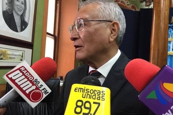 Julio Solórzano, magistrado del TSE.