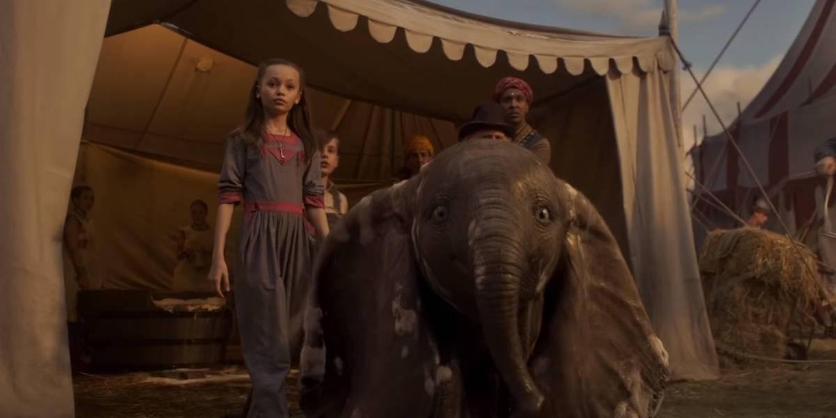'Dumbo' lidera bilheterias norte-americanas, mas com valor abaixo do esperado