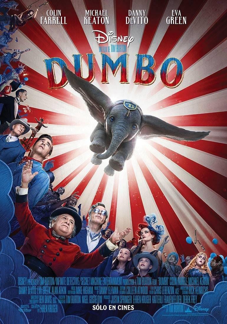 La nueva versión de Dumbo, llega a los cines 29 de marzo de 2019 Especial