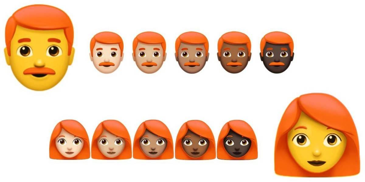 Así puedes obtener los emojis de pelirrojos de WhatsApp