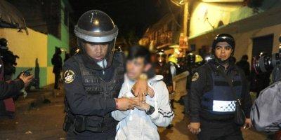 Detienen a hondureños por intento de homicidio de un policía 730f5854328