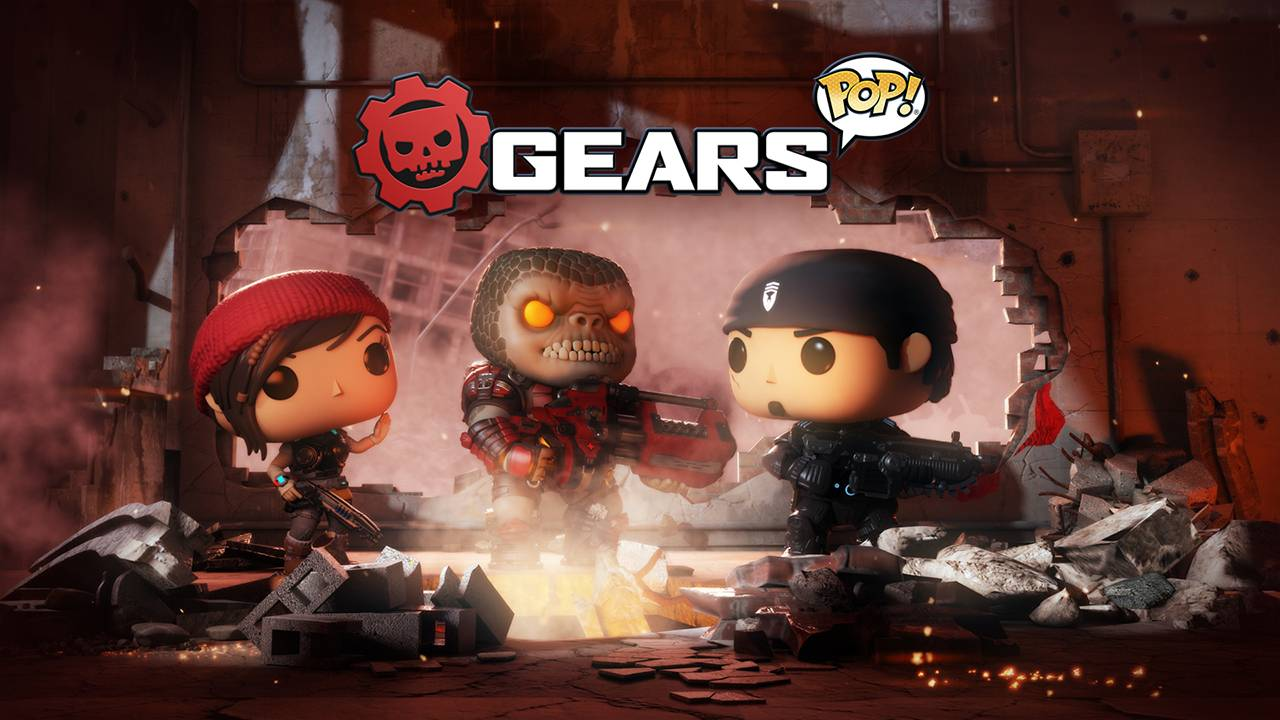 Se revela el primer gameplay de Gears Pop!