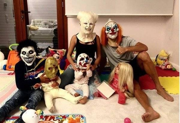 Georgina Rodríguez, Cristiano Ronaldo y sus hijos