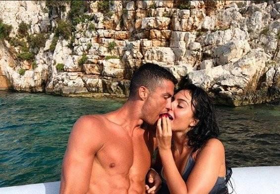 Georgina y Cristiano Ronaldo