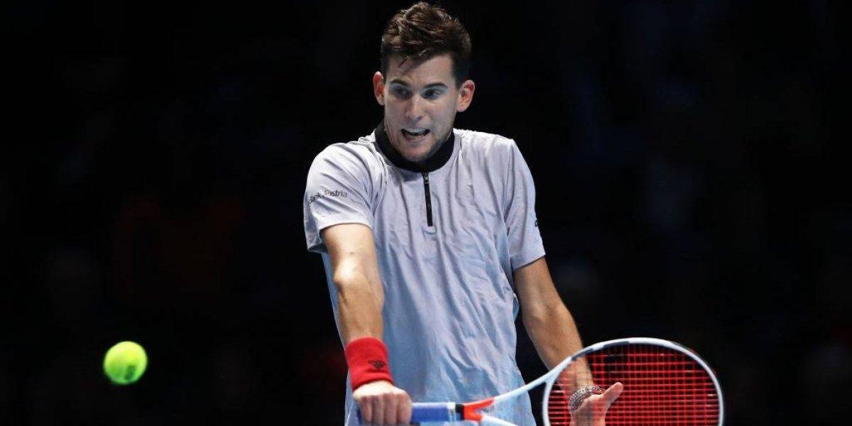 Thiem barre a Nishikori, clasifica a Anderson y le da esperanza a Federer en las Finales de la ATP
