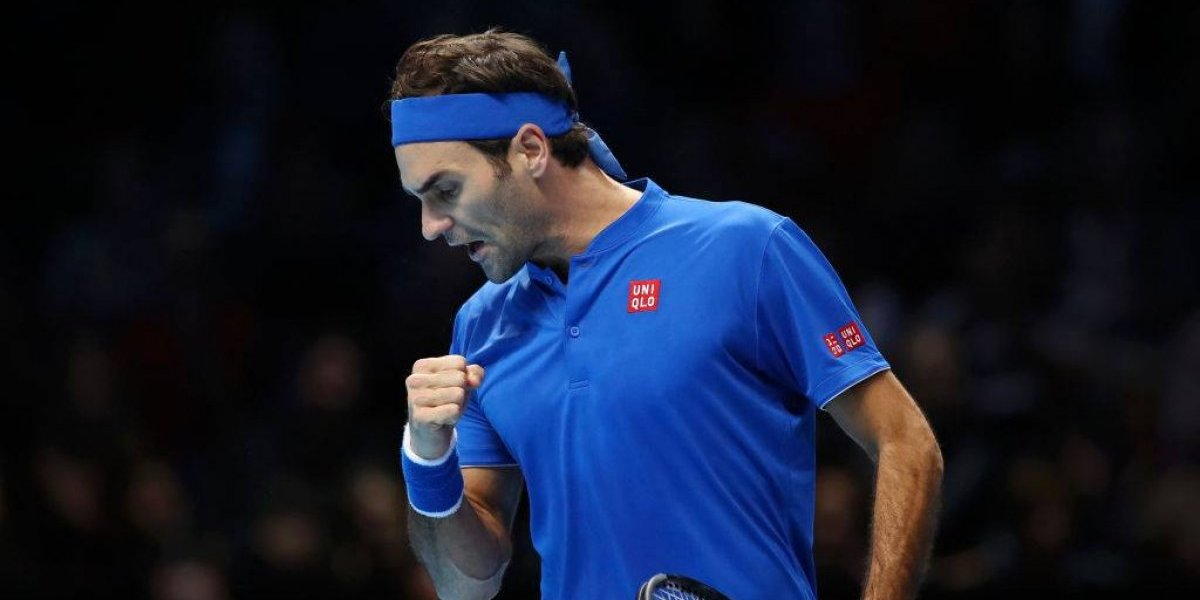 La leyenda Roger Federer avanza por 15ª ocasión a semifinales del torneo de Maestros