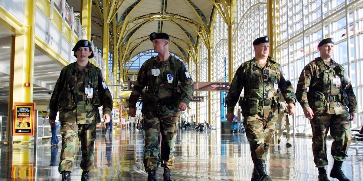 ¿Qué otros países tienen Guardia Nacional y cómo está conformada?