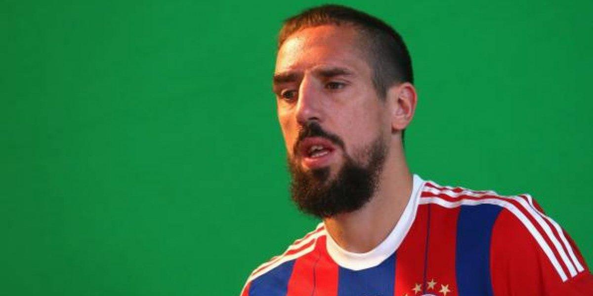Franck Ribéry abofeteo a un periodista luego de un encuentro