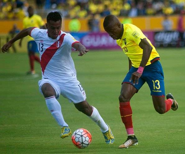 Ecuador vs Perú Eliminatorias