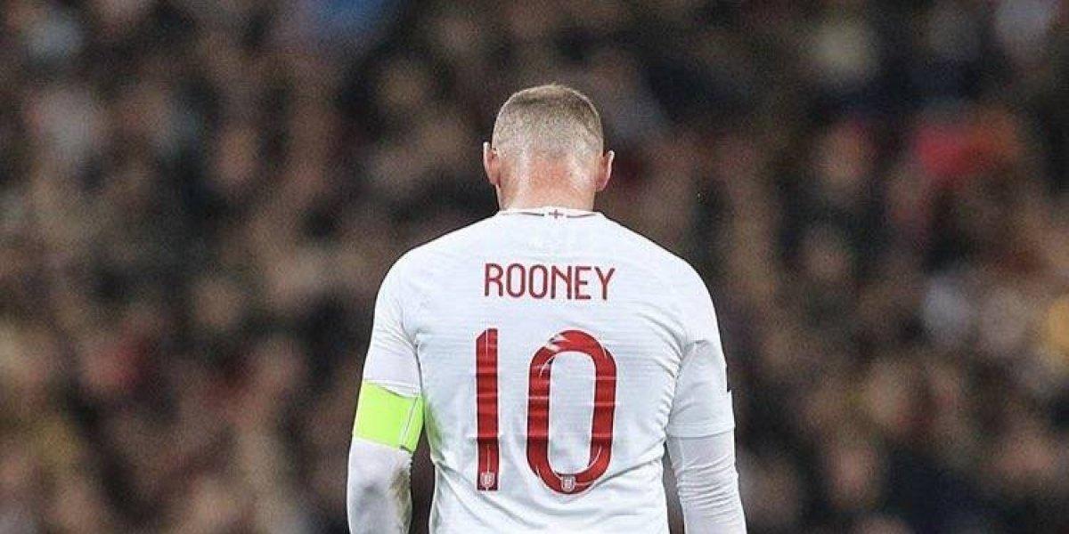 Inglaterra despide a su leyenda, Wayne Rooney
