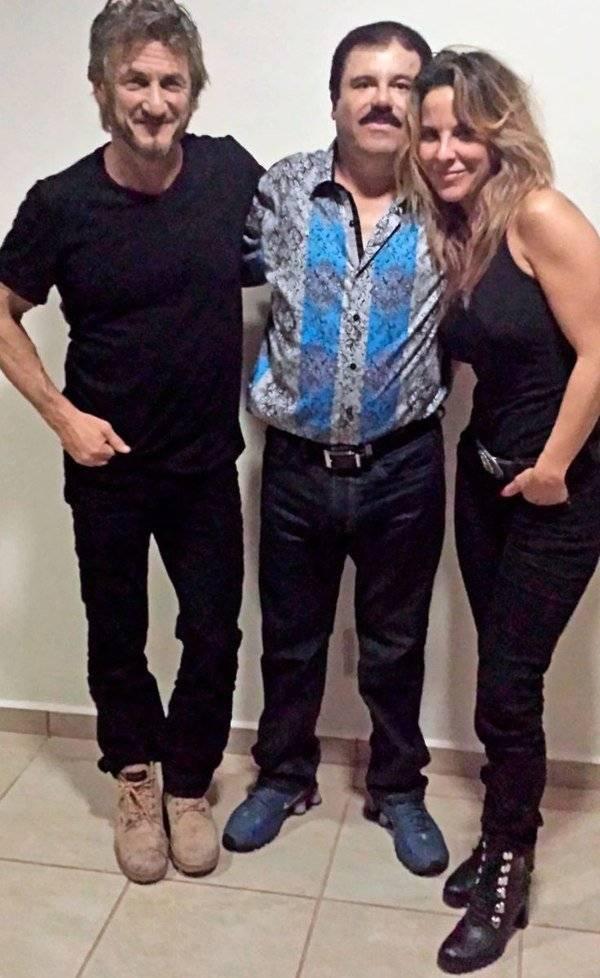 Sean Penn, Chapo Guzman y Kate del Castillo